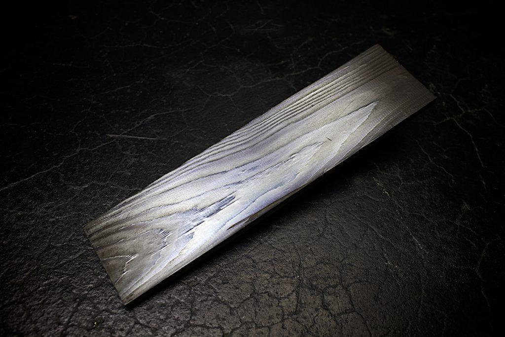 BLシルバーコートRTを木材に施工… その風合いが素敵過ぎる!!