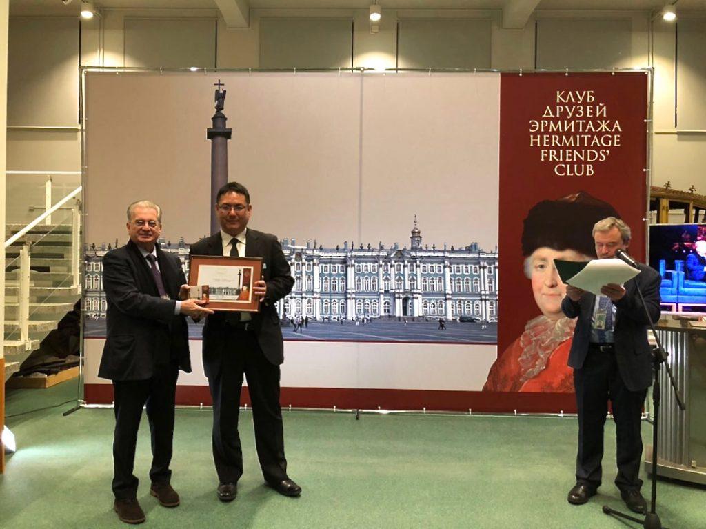 BLゴールドコート : ロシア国立エルミタージュ美術館様より表彰!!