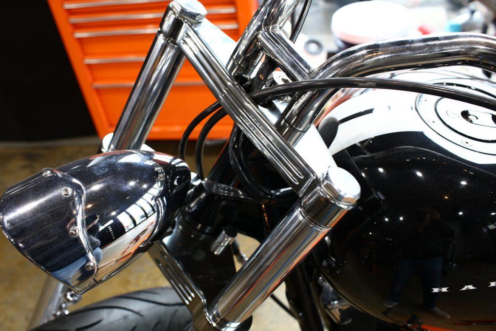 BLシルバーコートRTをバイクパーツに施工!!