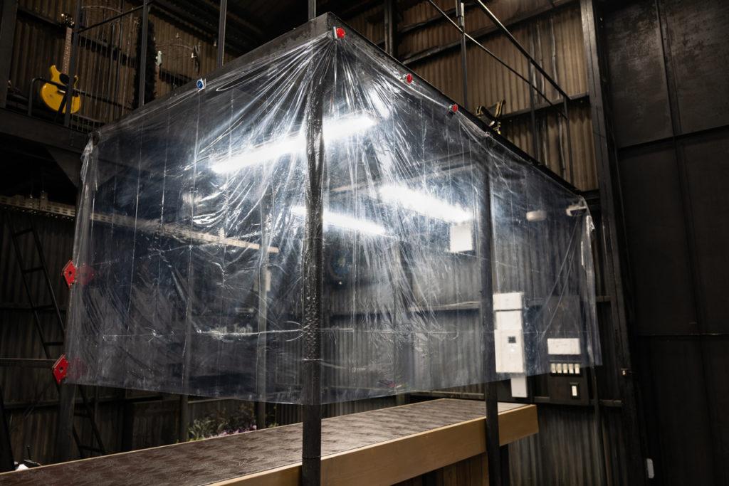 [ 抗除菌塗料 : GlossWell #240 ] レジカウンター前の更なる飛沫感染予防対策のご提案