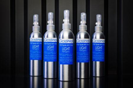 スプレータイプ : GlossWell #750 Type Anti-Viral / LIGHT